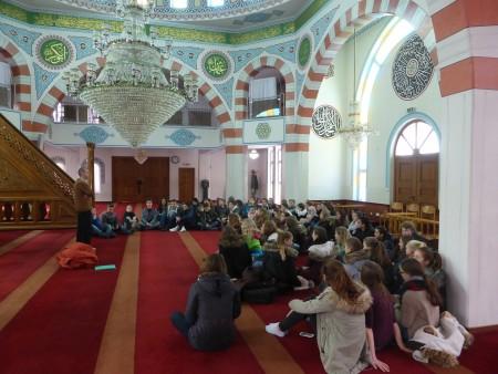 Exkursion in die Moschee von Pforzheim 2015