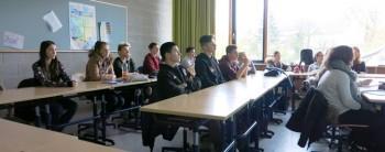 Beim Vortrag